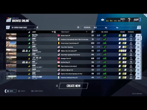 Project Cars 2 VR Online Session
