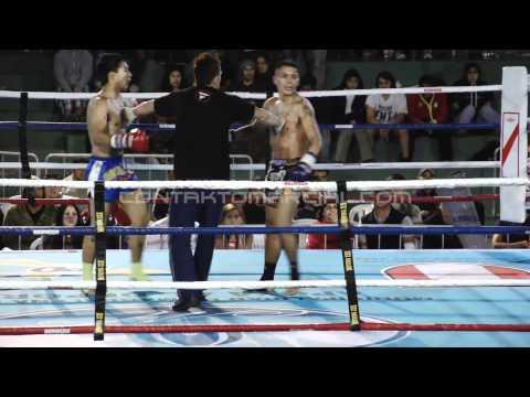 Sudamericano de Muay Thai Lima 2011 - Frank Paredes vs Juan Allevato