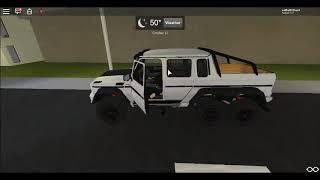 Mercedes-Benz G63 AMG 6x6  Roblox