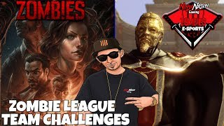 DOING ZOMBIE LEAGUE SEASON CHALLENGES !!! GLADIATOR & STOKER | Call Of Duty: Black Ops 4 ZOMBIES