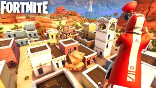 Desert Village HIDE AND SEEK Carte in Fortnite Creative (Codes in Comments) LITTLE PUEBLO