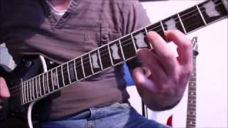 Insomnium (Melodic Death Metal) - Decoherence (instrumental) - Guitar cover