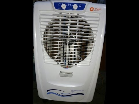 Orient Snowbreeze Super CD5002B 50L DesertCooler 2017 Unboxing/Review [HINDI ][TOP RATED]