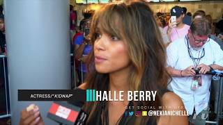 Halle Berry On KIDNAP, Human Trafficking & Movie Knowledge