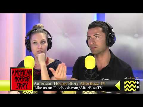 """American Horror Story After Show Season 2 Episode 1 """"Welcome to Briarcliff""""   AfterBuzz TV"""
