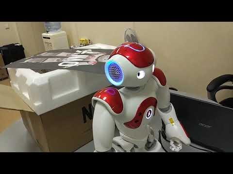 Как работать с роботом Нао