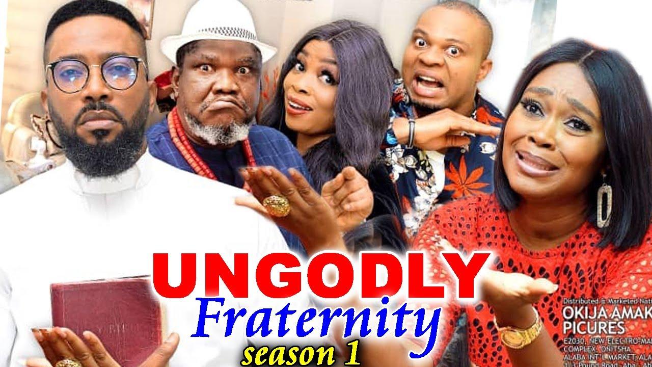 Download UNGODLY FRATERNITY SEASON 1-(Trending New Movie)Fredrick Leonard 2021 Latest Nigerian  Movie Full HD