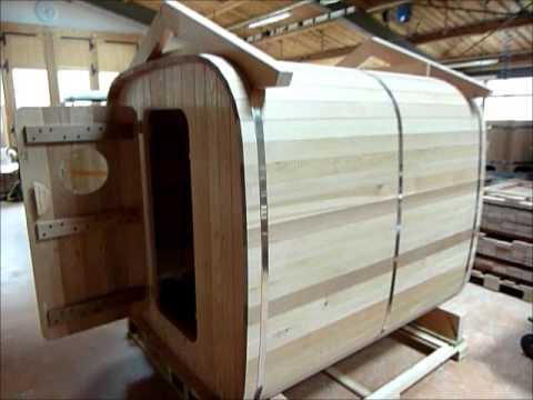 sauna ext rieur par o 39 biozz youtube. Black Bedroom Furniture Sets. Home Design Ideas