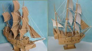 Cara Membuat Perahu Dari Kardus