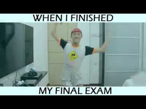 That Awesome Feeling When I Finish My Final Exam :P