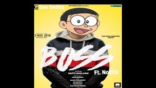 BOSS - (JASS MANAK) NOBITA VERSION | OFFICIAL VIDEO | DEV DEDHA |