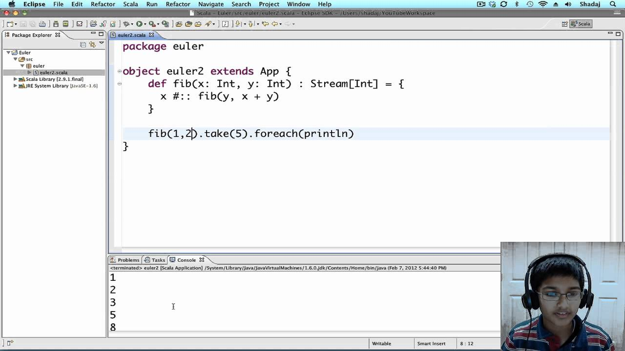 Project Euler using Scala: Problem 2 - YouTube