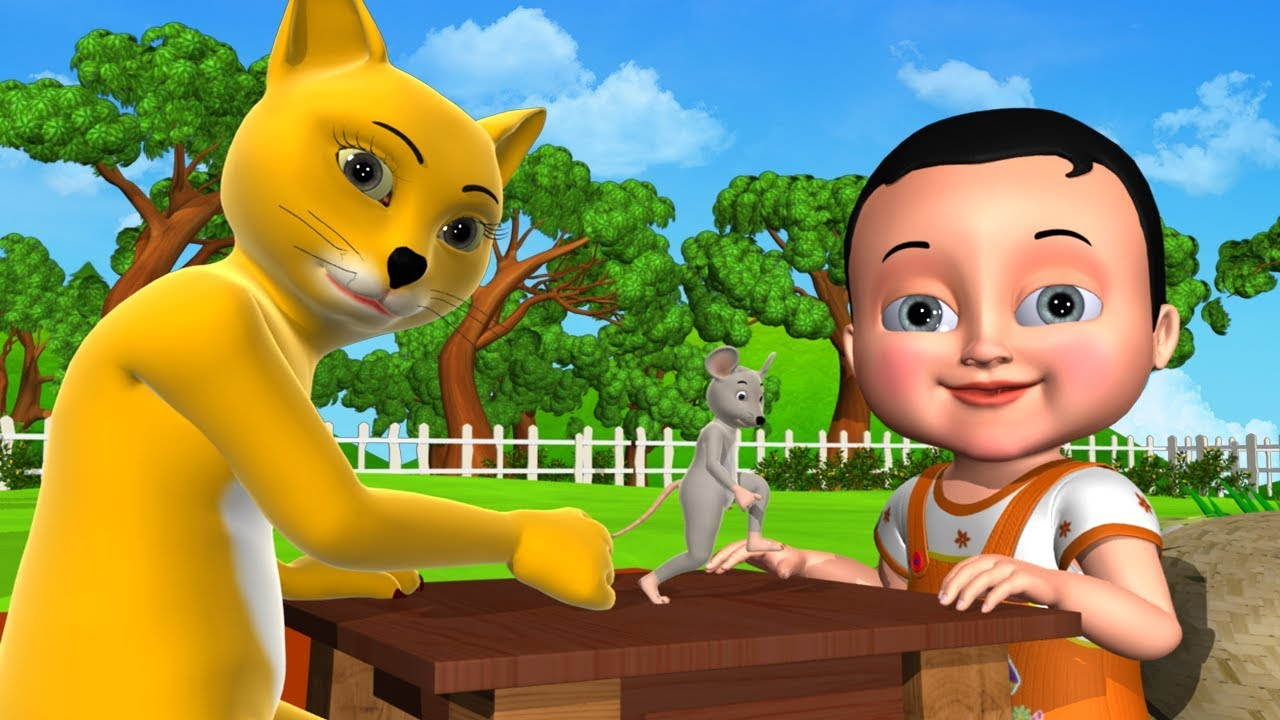 Johny Johny Yes Papa Animal Version - 3D Animation Nursery Rhymes & Songs For Children