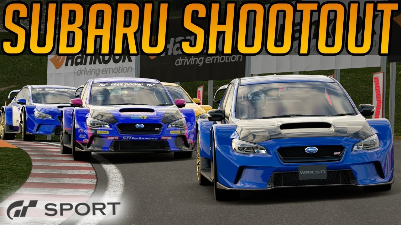 Gran Turismo Sport: Subaru Shootout With a Dirty Driver