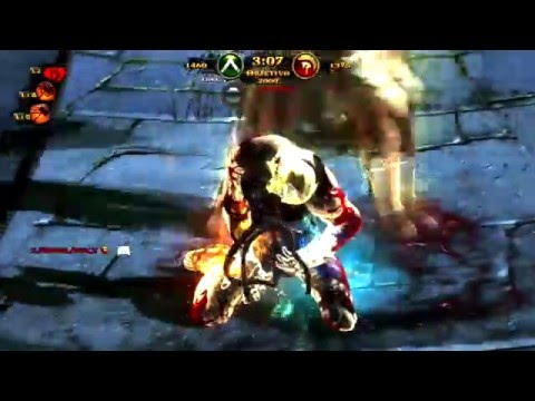 "GOD OF WAR ASCENSION MULTIPLAYER ""ENGR3HST VS ELCHILA"""