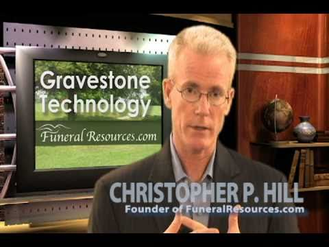 New Gravestone Technology - Funeral Technology RFID Microchips in Tombstones, Headstones