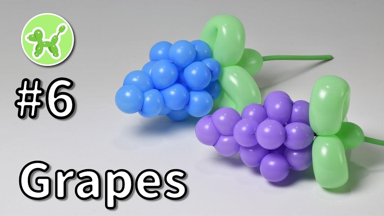バルーンアートの基本 #6 (ブドウ) / Grapes - Balloon Animals for Beginners #6