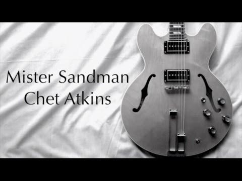 Mister Sandman - Chet Atkins  ( Guitar Tab Tutorial & Cover )