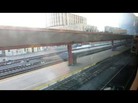 Metrolink train ride from Fullerton To Union station, Los Angeles