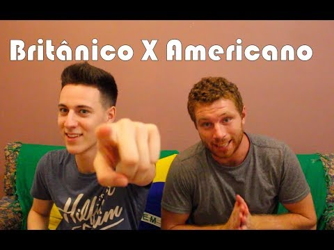Desafio: Inglês Americano X Inglês Britânico ft Harry  Tim Explica