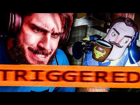 ΜΕ ΕΚΑΝΕ TRIGGERED! // Hello Neighbor Alpha 4