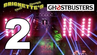 Part 2 Ghostbusting! ALL MINIKITS + RESCUE in LEGO Dimensions Ghostbusters Story Pack