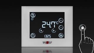 Ventajas de la unidad de mando termostato WOLF RM-2