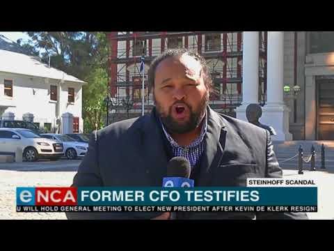 Former CFO testifies before Parliaments justice committee