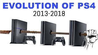 Evolution of PS4 (2013-2018)
