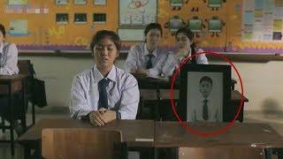 【宇哥】这名女生每天都带着自己的遗像上学,到底发生了什么?惊悚恐怖片《鬼校亡友》