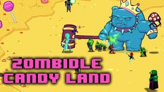 Zombidle Gameplay - Candy Land and more than 2.5B orbs