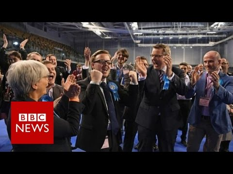 Tories make big gains from Labour and UKIP - BBC News