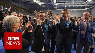 Tories make big gains from Labour and UKIP   BBC News