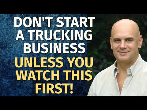 How To Start A Trucking Business | Including Free Trucking Business Plan Template