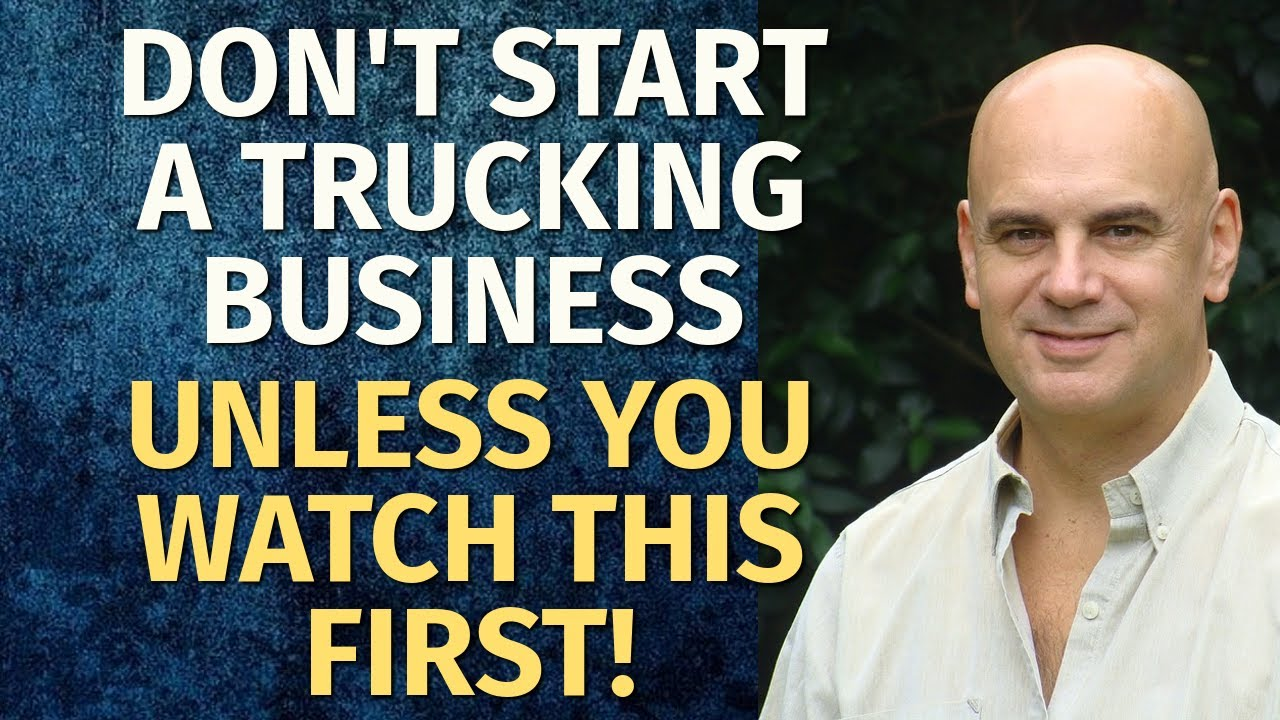 How to Start a Trucking Business  Including Free Trucking Business Plan  Template