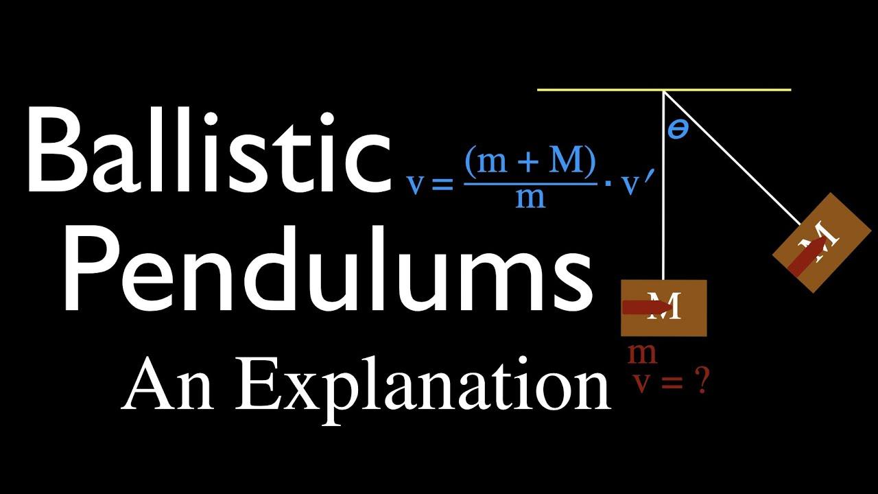Momentum, Impulse & Collisions: The Ballistic Pendulum, An Explanation