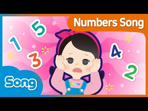 [CarrieAndSong] Number Song Korean Version | Lagu Anak | CarrieTV_Indonesia