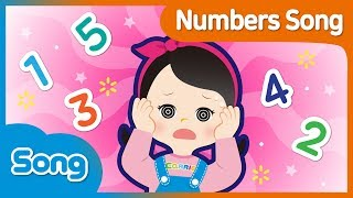 [CarrieAndSong] Number Song Korean Version | Lagu Anak | CarrieTV_Indonesia