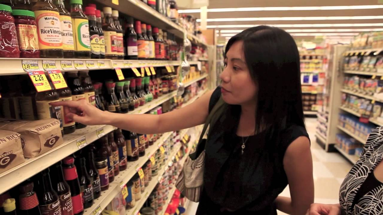 Shopping for Mitsukan Products with Bee from Rasa Malaysia - Music 2