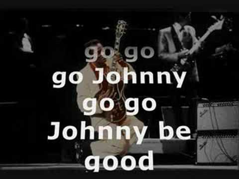 CHUCK BERRY - JOHNNY B. GOOD LYRICS
