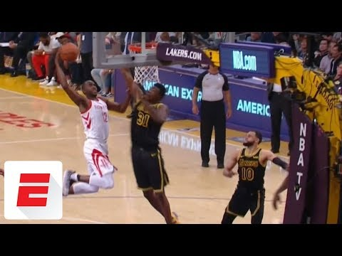 Rockets' Luc Mbah a Moute DISLOCATES Shoulder On Dunk (VIDEO)