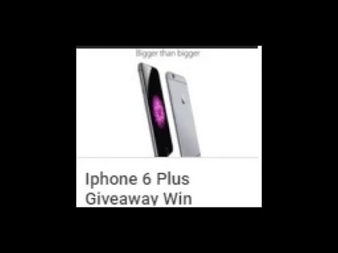 iphone 6 giveaway iphone 6 plus giveaway international contest winner 11336