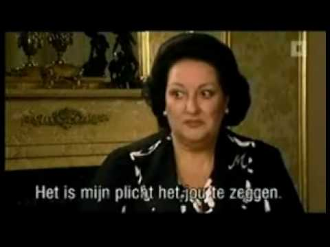 Montserrat Caballe Interview About Freddie Mercury