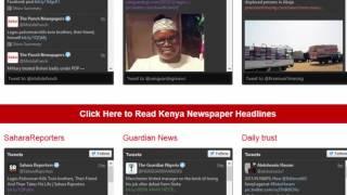Read Nigeria Newspaper Headlines Today