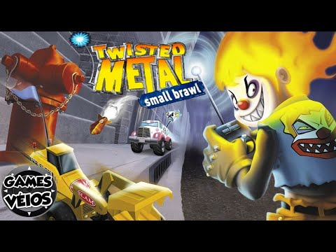Twisted Metal Small Brawl All Endings