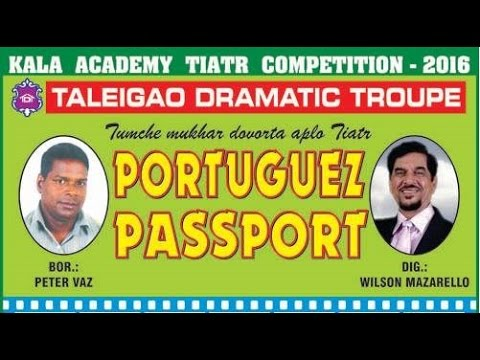 Portuguese Passport - First Prize
