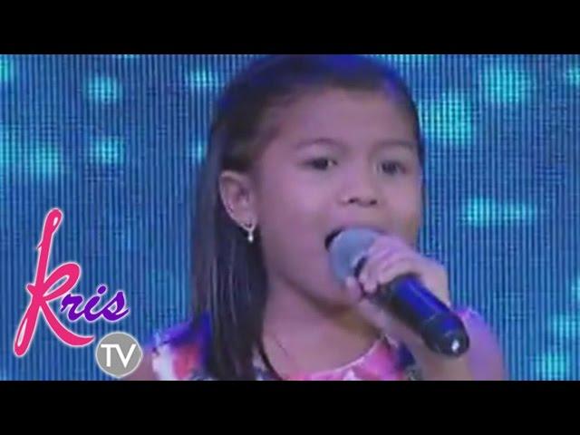 """Kris TV: Lyca sing """"Titanium"""" on Kris TV"""