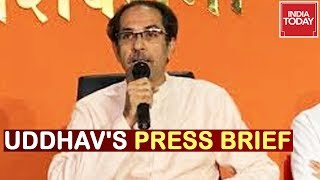 Uddhav & Aditya Thackeray's Press Briefing | Watch Live