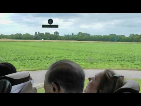 Viking River Cruises narrated tour bus ride from Kehl, Germany to Colmar, France