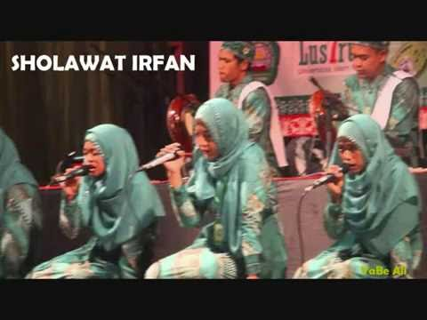 sholawat irfan song by college student